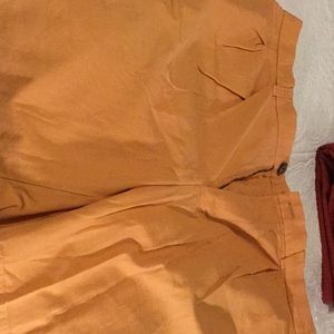 Brooks Brothers Shorts- Size 36 Orange